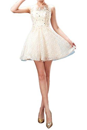 ivyd ressing Femme Sweetheart courte tuell Motif dentelle robe robe Prom Cocktail robe du soir -  violet - 34