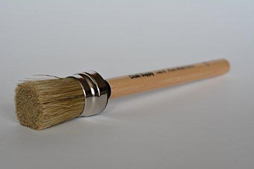NEW Chalk Supply Round Wax Brush- Small