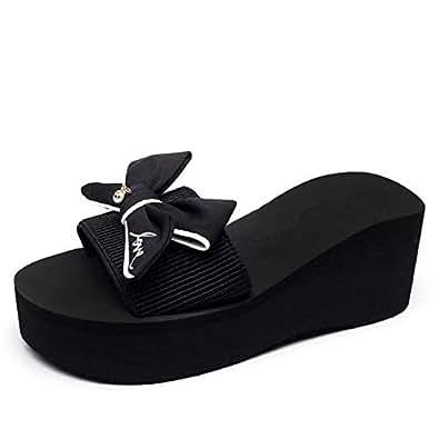 Black Comfort & Medical Slipper For Women