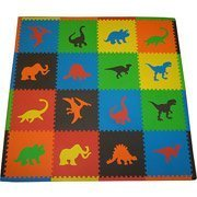 Eva Contrasting Foam - Seed Sprout Dinosaur 16pc Playmat Set