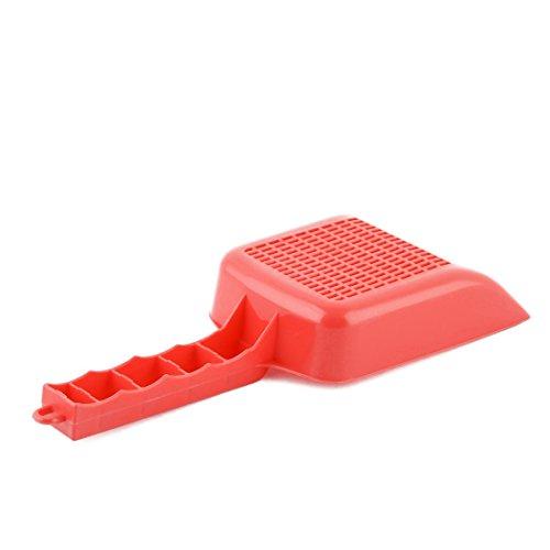 DealMux Acuario de plástico pecera pecera Arena raspador Pan Cucharada Espada de la Pala roja: Amazon.es: Productos para mascotas