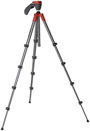 Red MKCOMPACTLT-RD Manfrotto Compact Light Aluminum 4-Section Tripod Kit with Ball Head