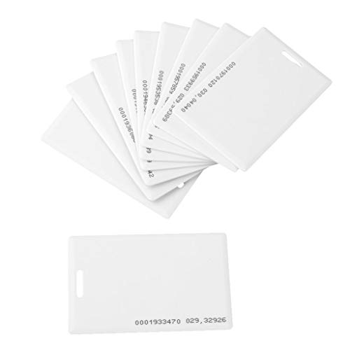 Navkar Set Of 100 RFID Cards For Time Attendance Or Access Control System Having RFID Price & Reviews