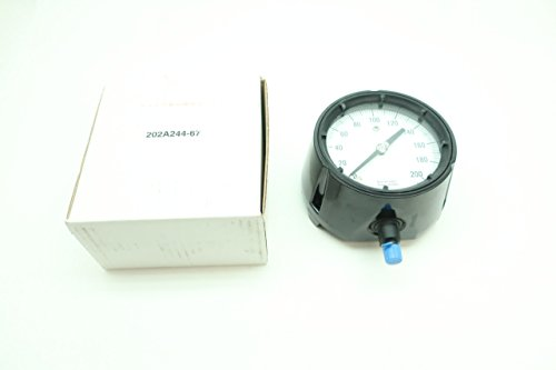 Ashcroft 45-1279-AS-02L-200# DURAGAUGE Pressure Gauge 0-200PSI 1/4IN D613885