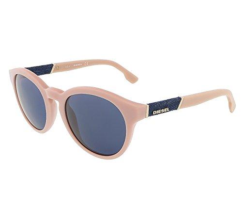 Diesel DL0115/S 72V Baby Pink Round sunglasses