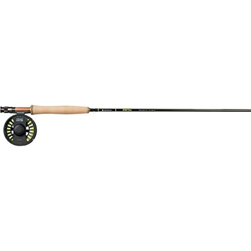 6wt Fly Rod Outfit - Redington Fly Fishing Combo Kit 690-4 Path Ii Outfit with Crosswater Reel 6 Wt 9-Foot 4pc