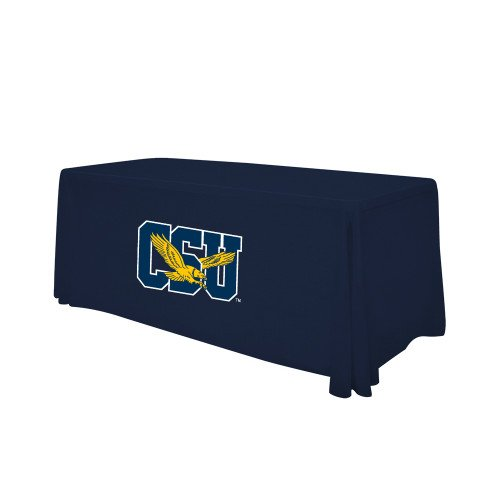 Coppin Navy 6 foot Table Throw 'Official Logo' by CollegeFanGear