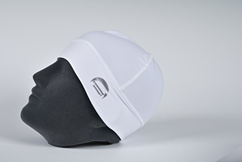 Chrome Dome Caps - UV Protective Sun Hats for Outdoor Sports (White)