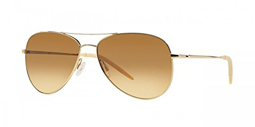 Oliver Peoples Kannon, Gold and Chrome Amber Photochromic VFX 59mm - 59 Oliver Peoples Benedict