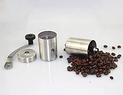 ICCUN Handheld Stainless Steel Bean Manual Coffee Grinder Kitchen Restaurant Manual Grinders from ICCUN