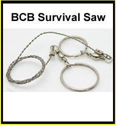 BCB Commando and Survival Wire Saw, Outdoor Stuffs