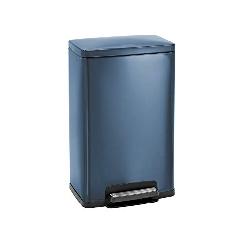 Tramontina 81200/564DS Rectangular Step Can Freshener System, 13-Gallon Trash Can, ()