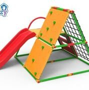 Delicieux Eezy Peezy TM500 Monkey Bars With Top   Red44; Green U0026 Yellow