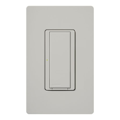 - Lutron Deep Back Cover Maestro Satin Color Digital Switch Single Pole Palladium (MSC-S8AM-PD)