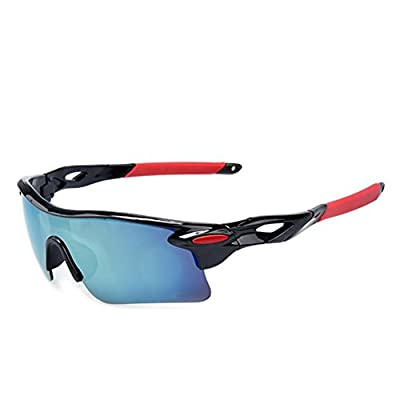 Men and Women Fashion Outdoor Sports Sunglasses Explosion - Proof Fishing Driving Wind Sunglasses