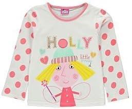 Girls Ben /& Holly/'s Little Kingdom T-shirt
