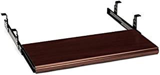 product image for HON 4022N Slide-Away Woodgrain Finish Keyboard Platform, Mahogany