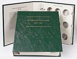 - Littleton Morgan Silver Dollars 1892-1921 Album LCA9