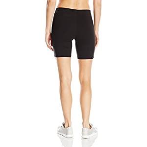 Hanes Women's Stretch Jersey Bike Short, Black, Large