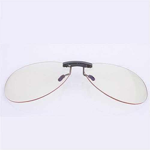 KOMNY radiación Anti Ultra Ordenador Be Juego de Turned Gafas Subir se Can móvil Clips de luz Prueba Esports antifatiga luz Gafas Azul Up a Puede rrxTEzdwq