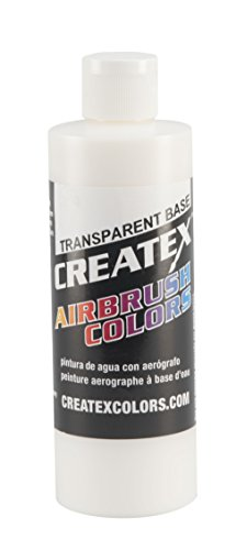Createx Colors Transparent Base Paint for Airbrush, 8 oz