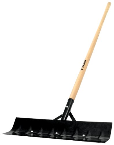 Truper 33130 Tru Tough 54-Inch Barn Scraper with Reversible Blade and Ash Handle, 14 Gauge