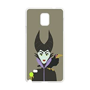 Samsung Galaxy Note 4 Cell Phone Case for Classic Theme Disney Maleficent Cartoon pattern design GDSNMLT16279