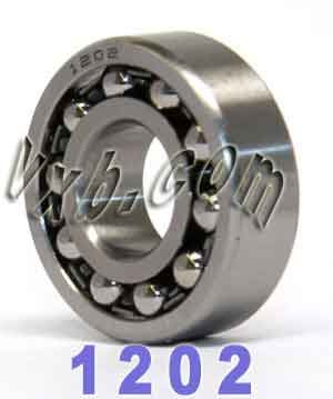 15x35x11 mm 1202 1202 Choose Order Qty Self Aligning Ball Bearing 15*35*11