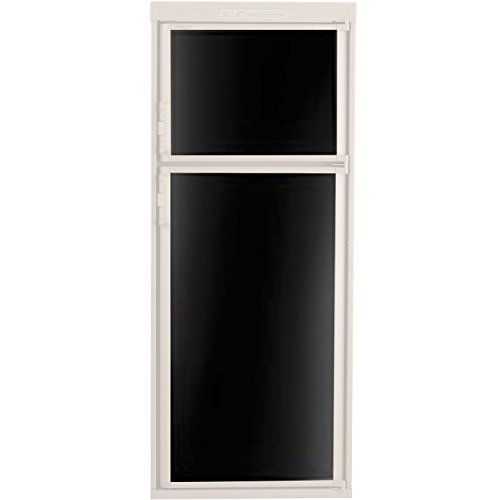 Dometic 3106863.073C Refrigerator Door Panel, Both Panels for RM2652/3662/3663 - Black Acrylic by Dometic