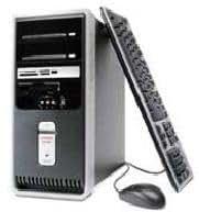 HP Compaq Presario SR2159ES PC - Ordenador de sobremesa (Procesador Intel® Pentium® D 915 Dual Core, SDRAM DDR2, 2 conectores para módulos DIMM, (7.200 rpm), Lector de tarjetas de memoria 9 en 1, DVD-writer)