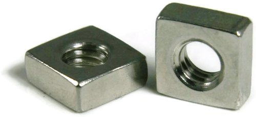 Square Nut 18-8 Stainless Steel - 5/8-11 Qty-100 by RAW PRODUCTS CORP