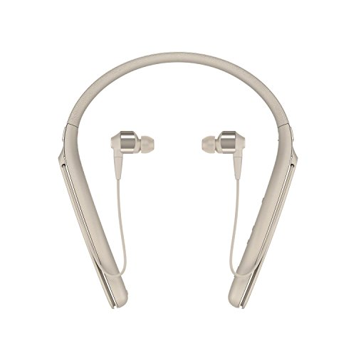 Sony Premium Noise Cancelling Wireless Behind-Neck In Ear Headphones - Gold (WI1000X/N) (Behind Neck Headphone Mobile)