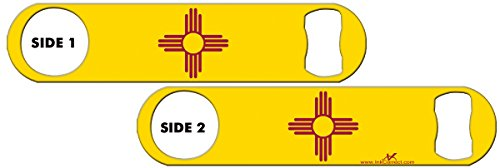 Cheap Inked Bottle Opener Flag: New Mexico