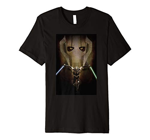 - Star Wars Episode III General Grievous Poster Premium T-Shirt