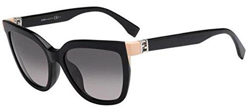 Gafas de Sol Fendi THE FENDISTA FF 0128/S SHINY BLACK/GREY ...