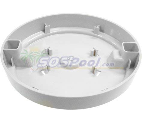 Pour-A-Lead Skimmer Cover 10 inch 201 Pal White