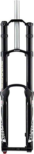 RockShox Boxxer Team Coil 200 26-Inch Maxle DH Black Charger DH RC Aluminum Steerer, 1 1/8-Inch A1