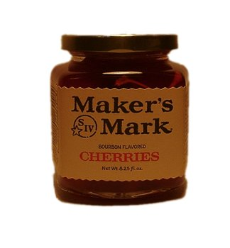 Maker's Mark Bourbon Flavored Gourmet Cherries - Case of Twelve by Maker's Mark