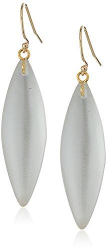 Alexis Bittar Lucite Earrings (Alexis Bittar Silver-075 Sliver Earrings)