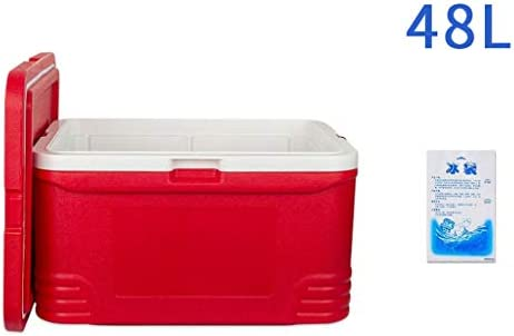 Performance cool box | 48L car fridge - 96 hours insulation - cool box for high-performance beer drinks - cool box for outdoor beer party