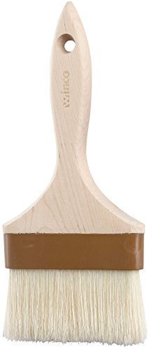 Winco Flat Pastry and Basting Brush, 4-Inch, Set of 12 by Winco