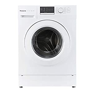 Panasonic 8 kg Fully-Automatic Front Loading Washing Machine (NA-128XB1W01, White, Inbuilt Heater)