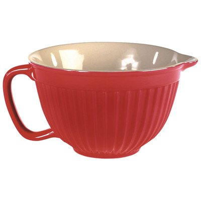 Simsbury Batter Bowl Color: Red