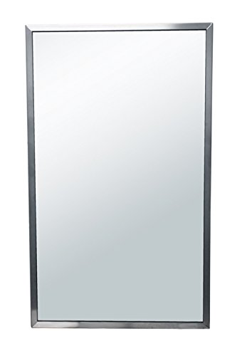 Brey-Krause Commercial Restroom Mirror - 24 inches Wide by 30 inches -