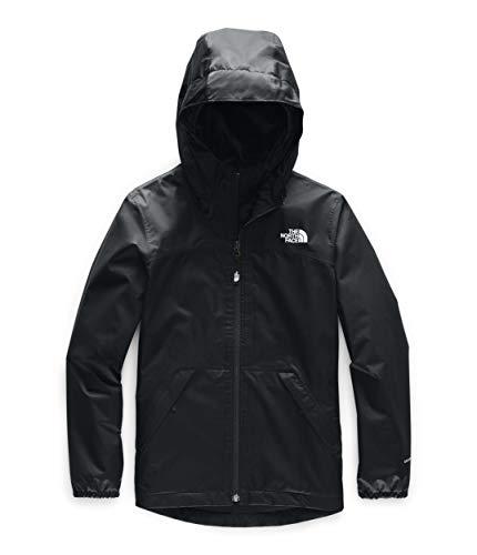 The North Face Kids Girl's Warm Storm Jacket (Little Kids/Big Kids) TNF Black X-Large (Childrens North Face Coat)