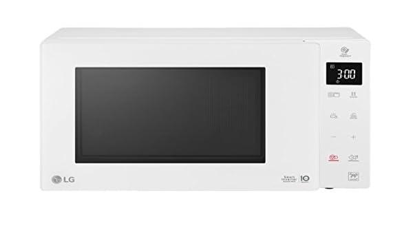Horno a microondas combinado LG mh-6336gih Capacidad de 23 L 1150 W blanco: Amazon.es: Hogar
