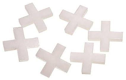 Hufa Kunststoff Fliesenkreuze weiß 3mm 200 Stück
