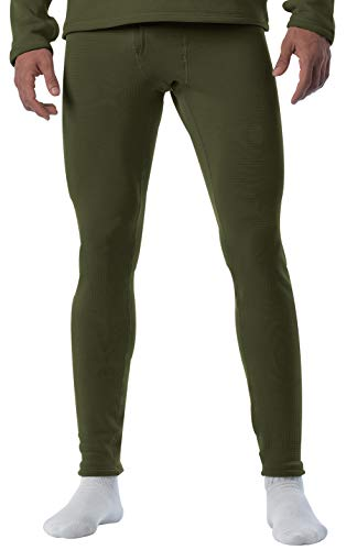 Rothco ECWCS Gen III Mid-Weight Underwear Bottoms (Level II), Olive Drab, XX-Large ()