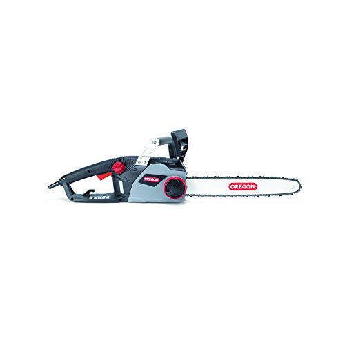 Oregon 603348 CS1400 Corded Chainsaw, Black/Grey