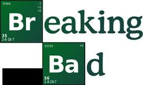 Breaking Bad Green et blanc boutons de manchette. Tableau périodique. Boite cadeau
